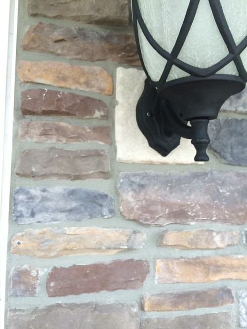 outdoor wall light mounting block photo - 6