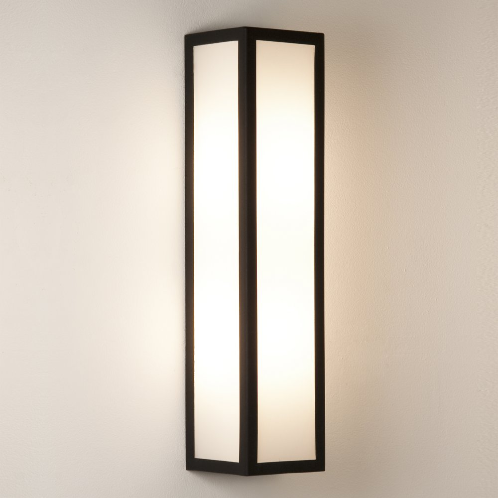 outdoor wall lighting black photo - 6