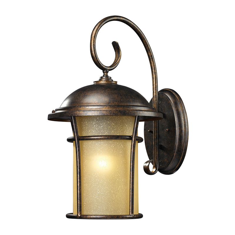 outdoor wall lighting bronze photo - 3