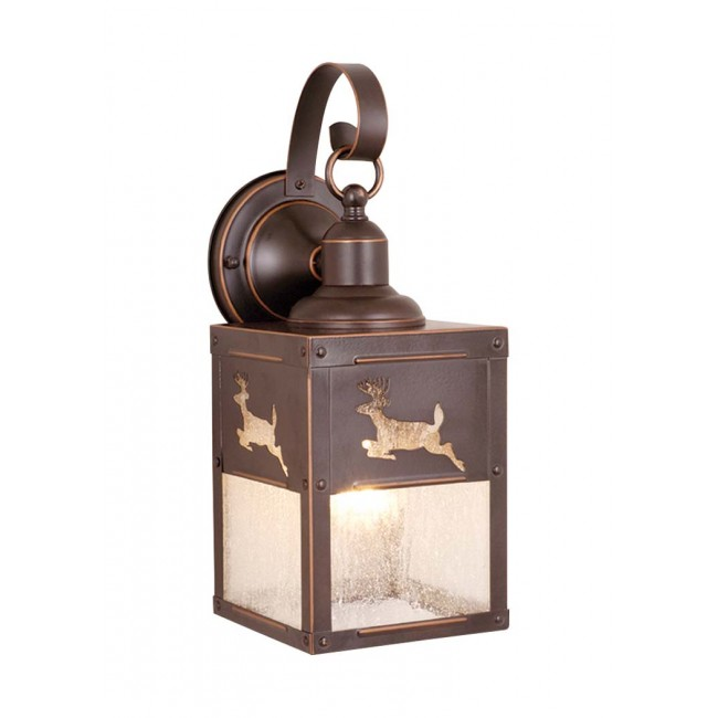 outdoor wall lighting bronze photo - 5