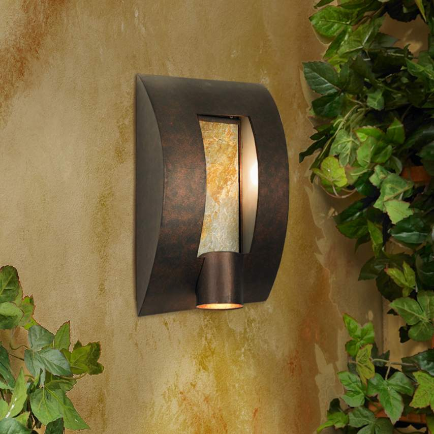 outdoor wall lighting design photo - 1
