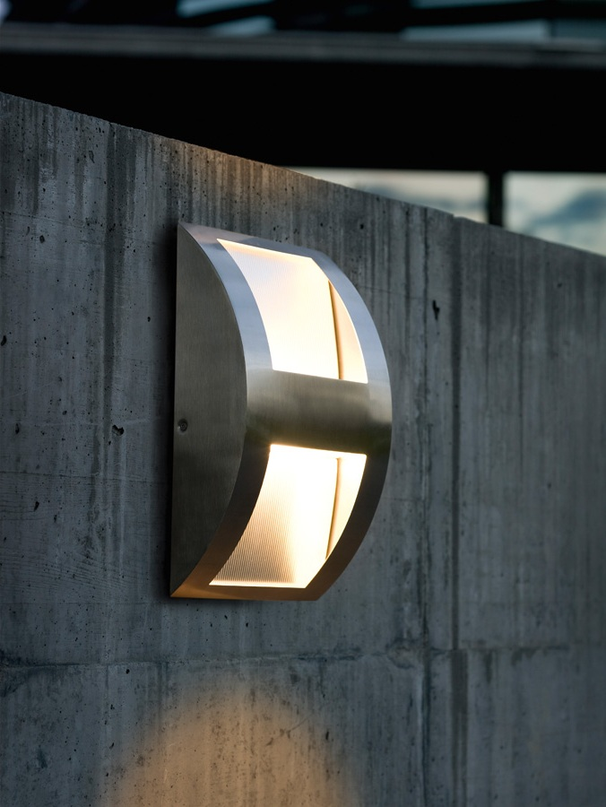 outdoor wall lighting design photo - 2
