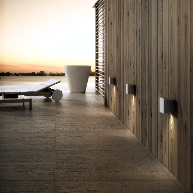 outdoor wall lighting design photo - 3