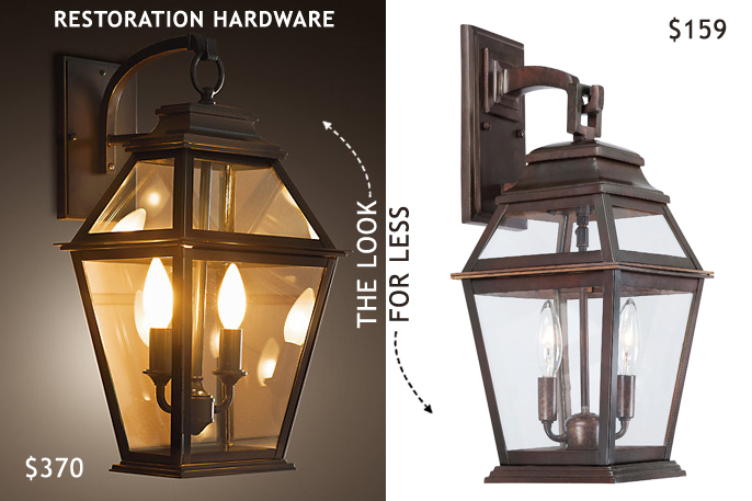 outdoor wall lighting for less photo - 1