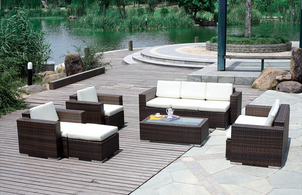 outdoor wicker furniture photo - 1