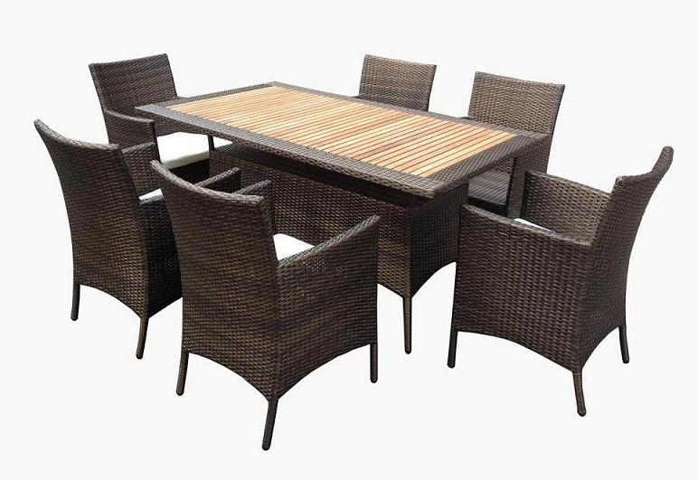 outdoor wicker furniture dining sets photo - 3