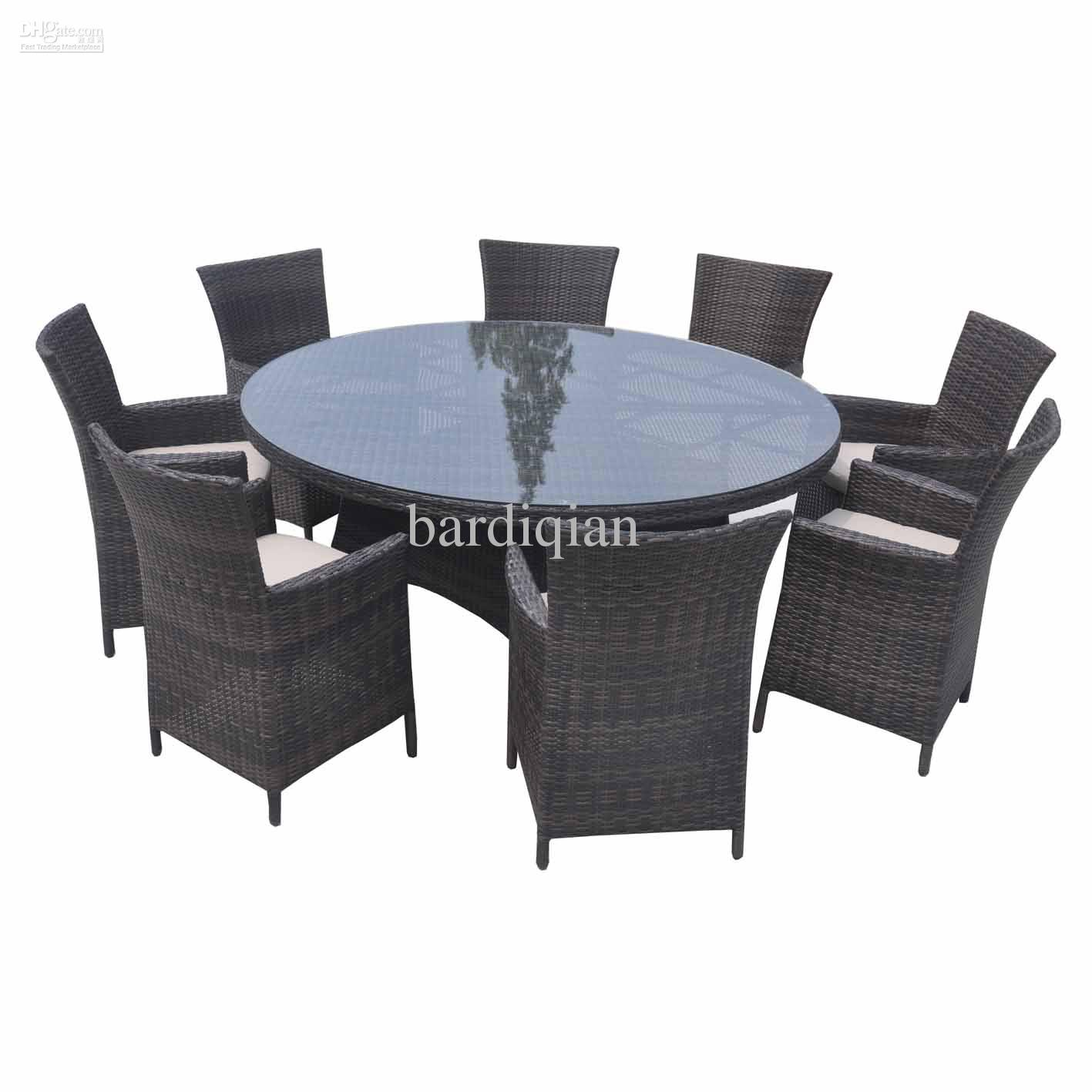 outdoor wicker furniture dining sets photo - 4