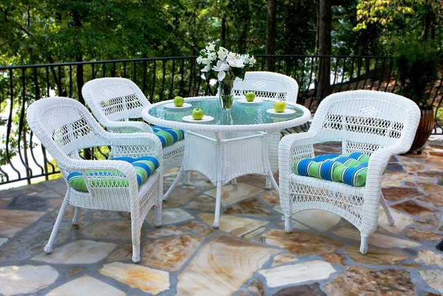 outdoor wicker furniture dining sets photo - 6