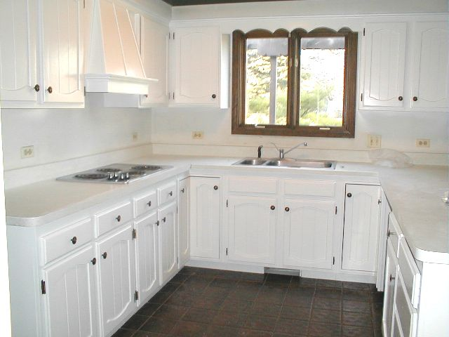 painted kitchen cabinet ideas white photo - 2