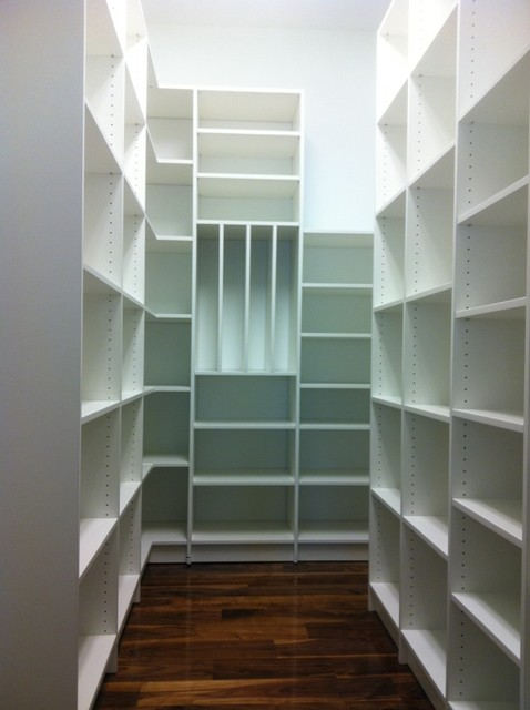 pantry closet shelving systems photo - 1