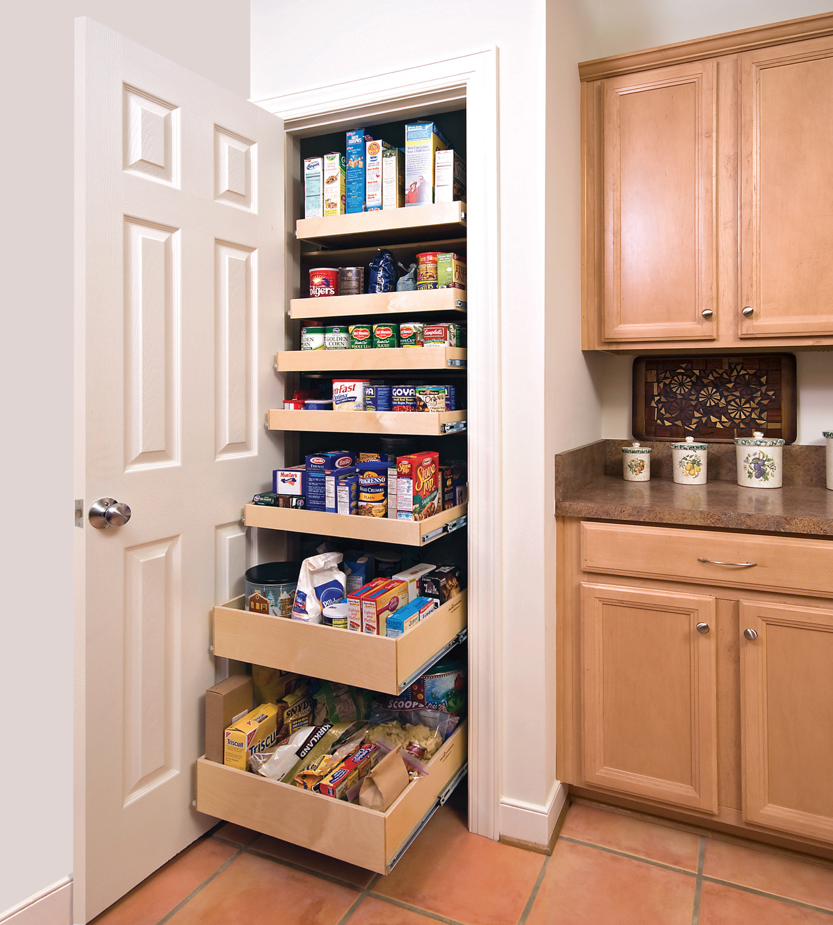 pantry closet shelving systems photo - 2