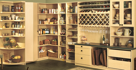 pantry closet shelving systems photo - 3