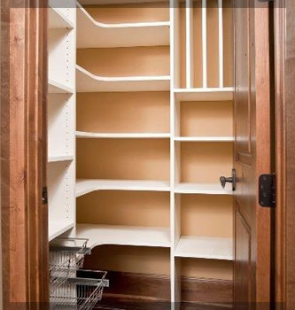 pantry closet shelving systems photo - 6