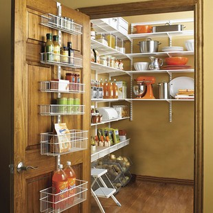 pantry wall shelving systems photo - 2