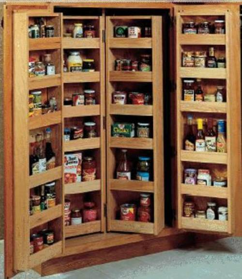 pantry wall shelving systems photo - 4
