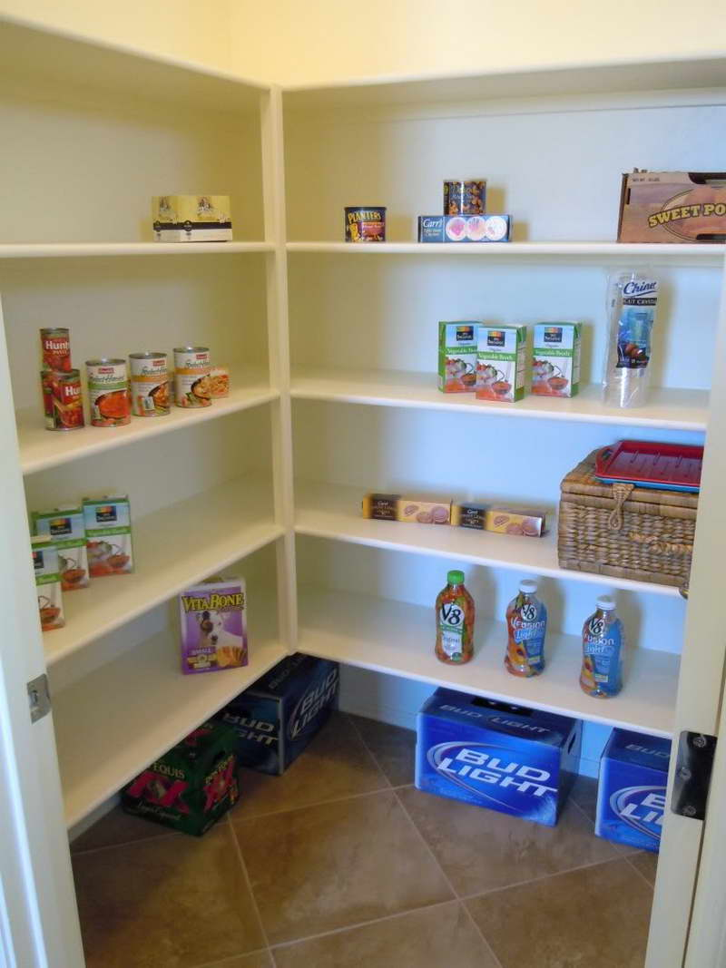 pantry wall shelving systems photo - 6