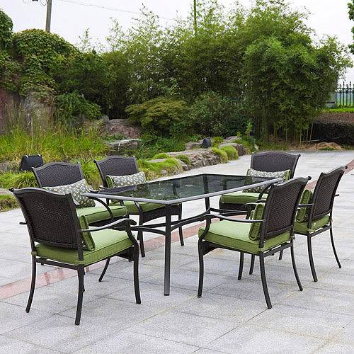 patio dining sets 7 piece photo - 1
