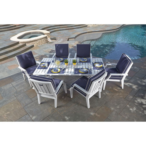 patio dining sets 7 piece photo - 4