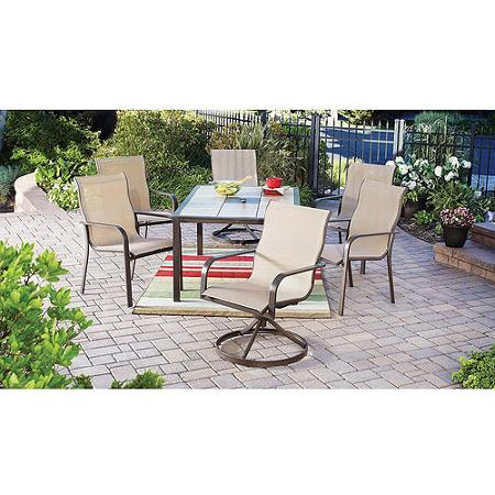 patio dining sets 7 piece photo - 5