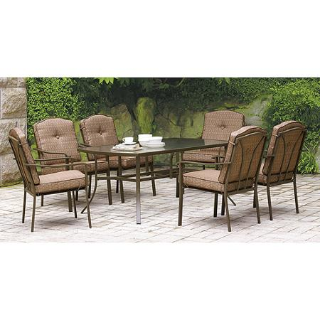 patio dining sets 7 piece photo - 6