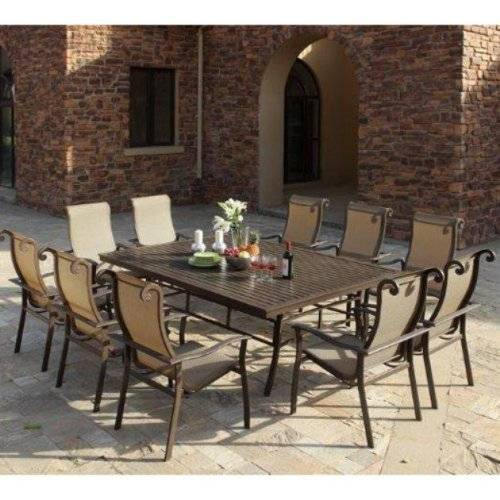 patio dining sets for 10 photo - 1