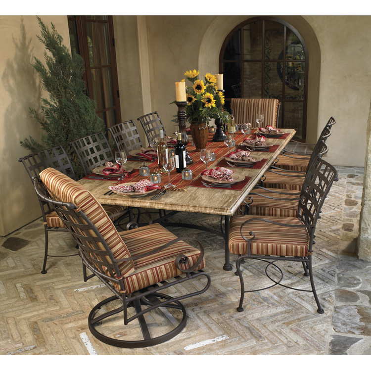 patio dining sets for 10 photo - 4
