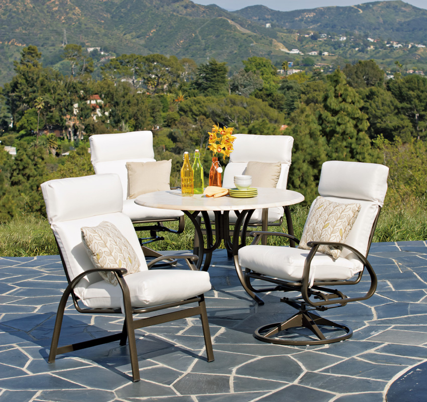 patio dining sets for 10 photo - 6