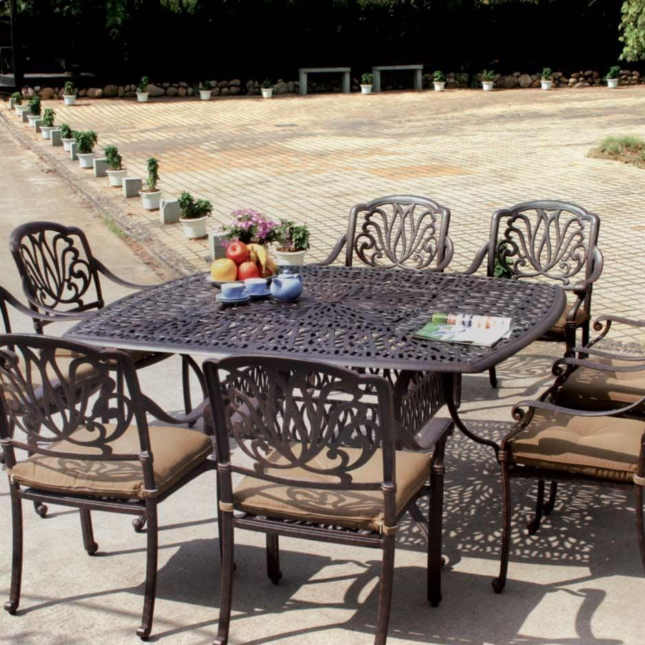 patio dining sets for 8 photo - 1