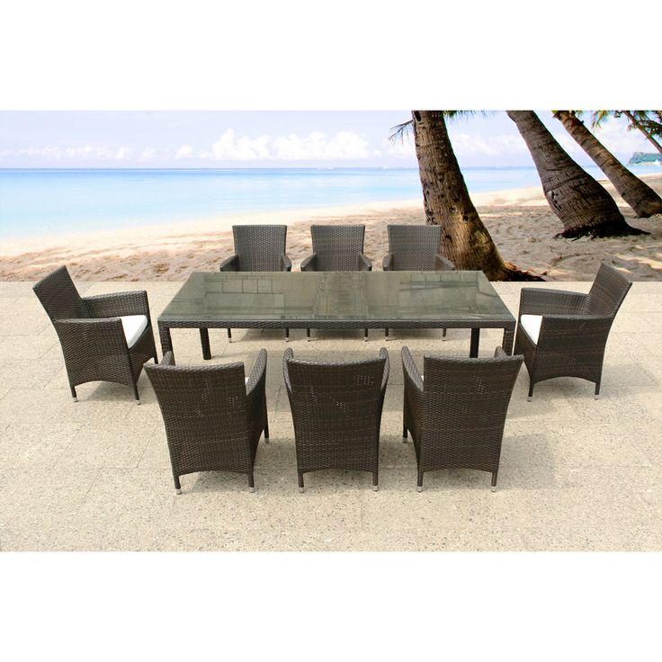 patio dining sets for 8 photo - 2
