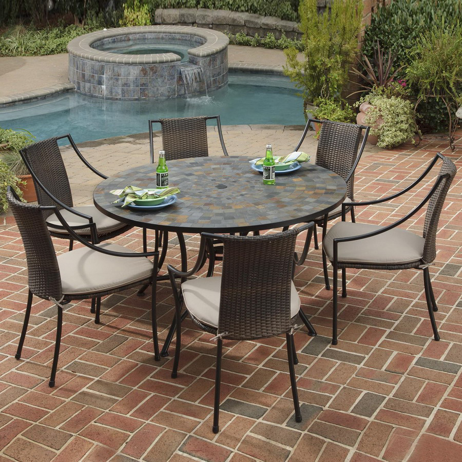 patio dining sets lowes photo - 1