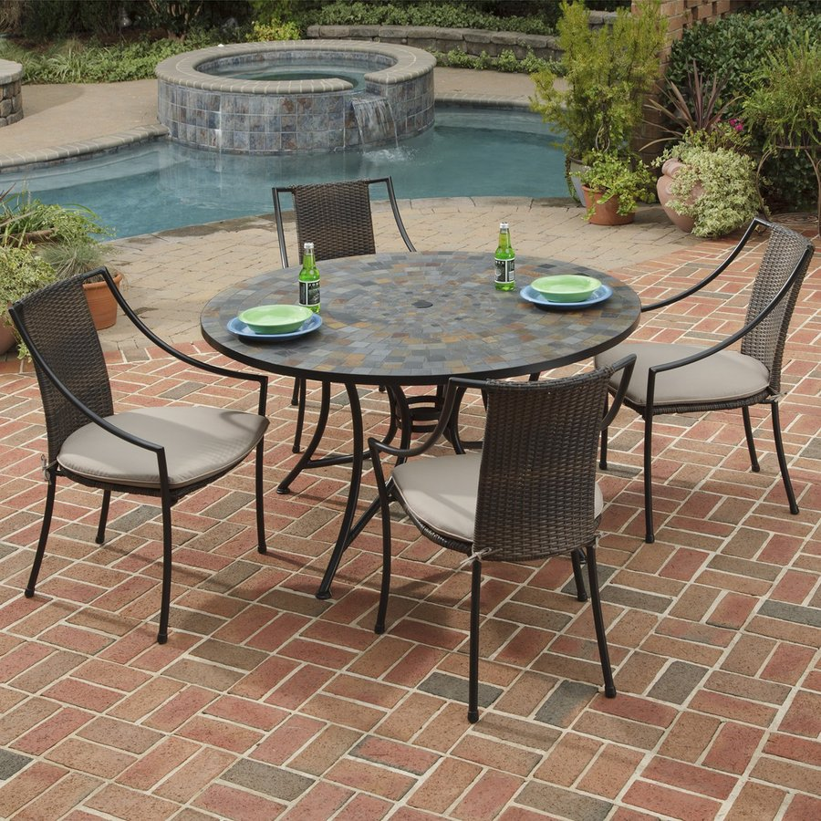 patio dining sets lowes photo - 5