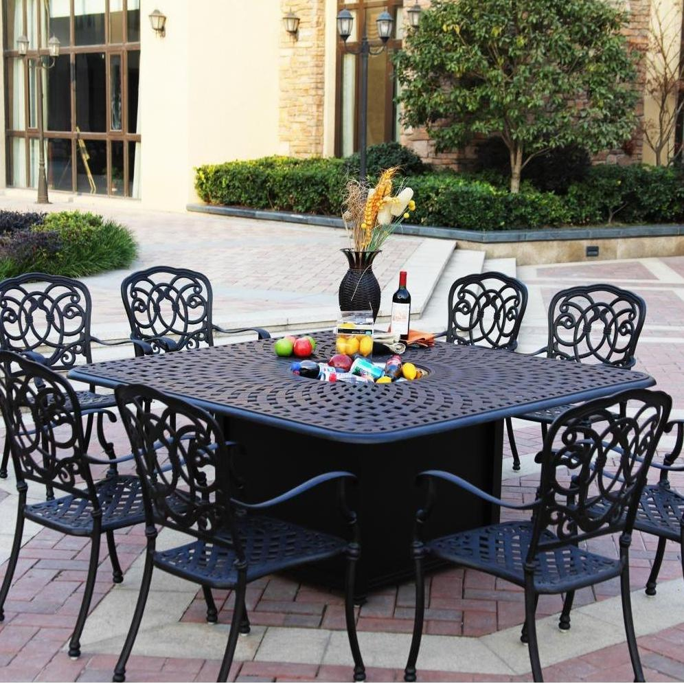 Patio Dining Sets With Fire Pits Photo   5