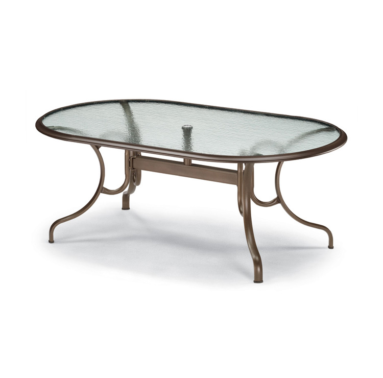 patio dining table glass photo - 2