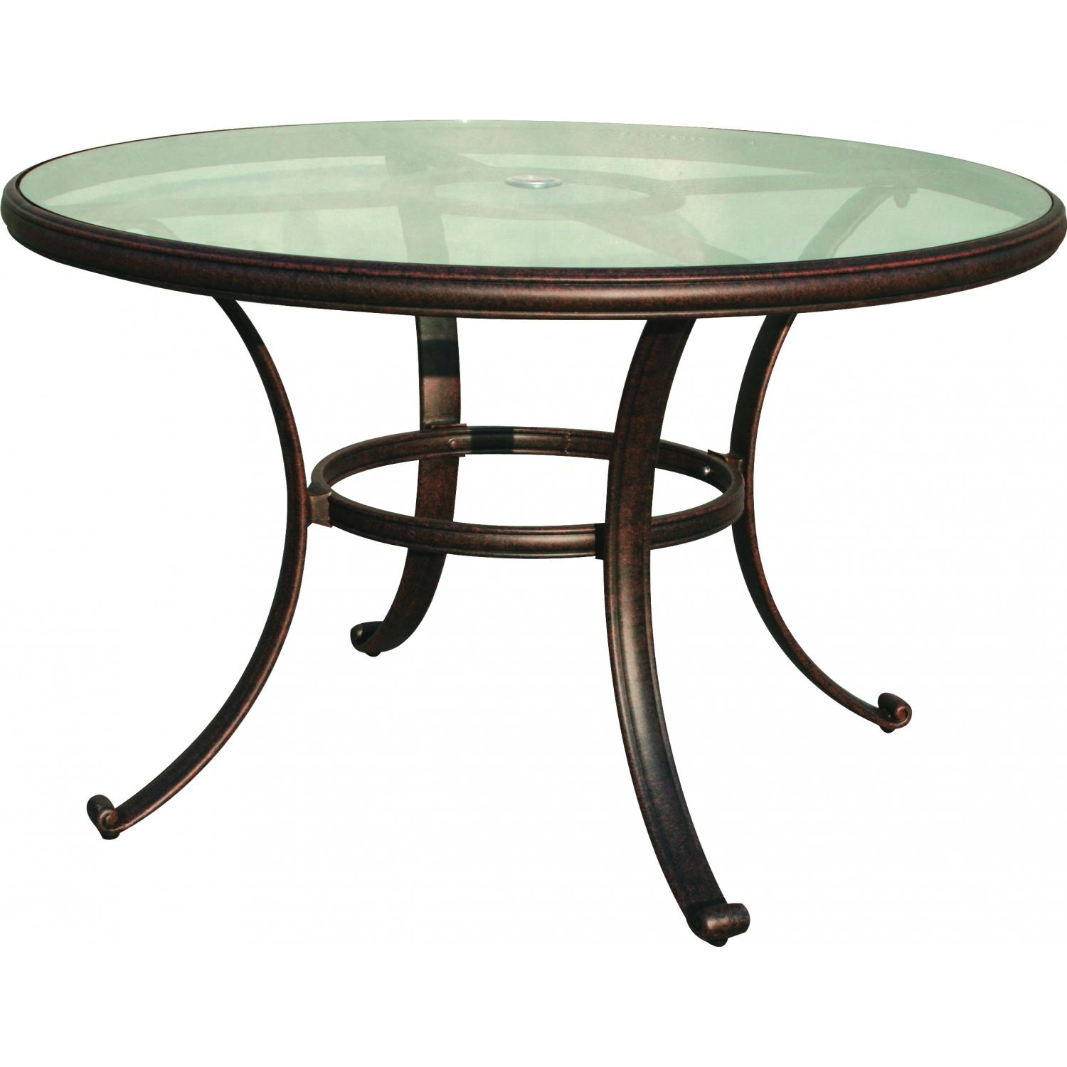 patio dining table glass photo - 6