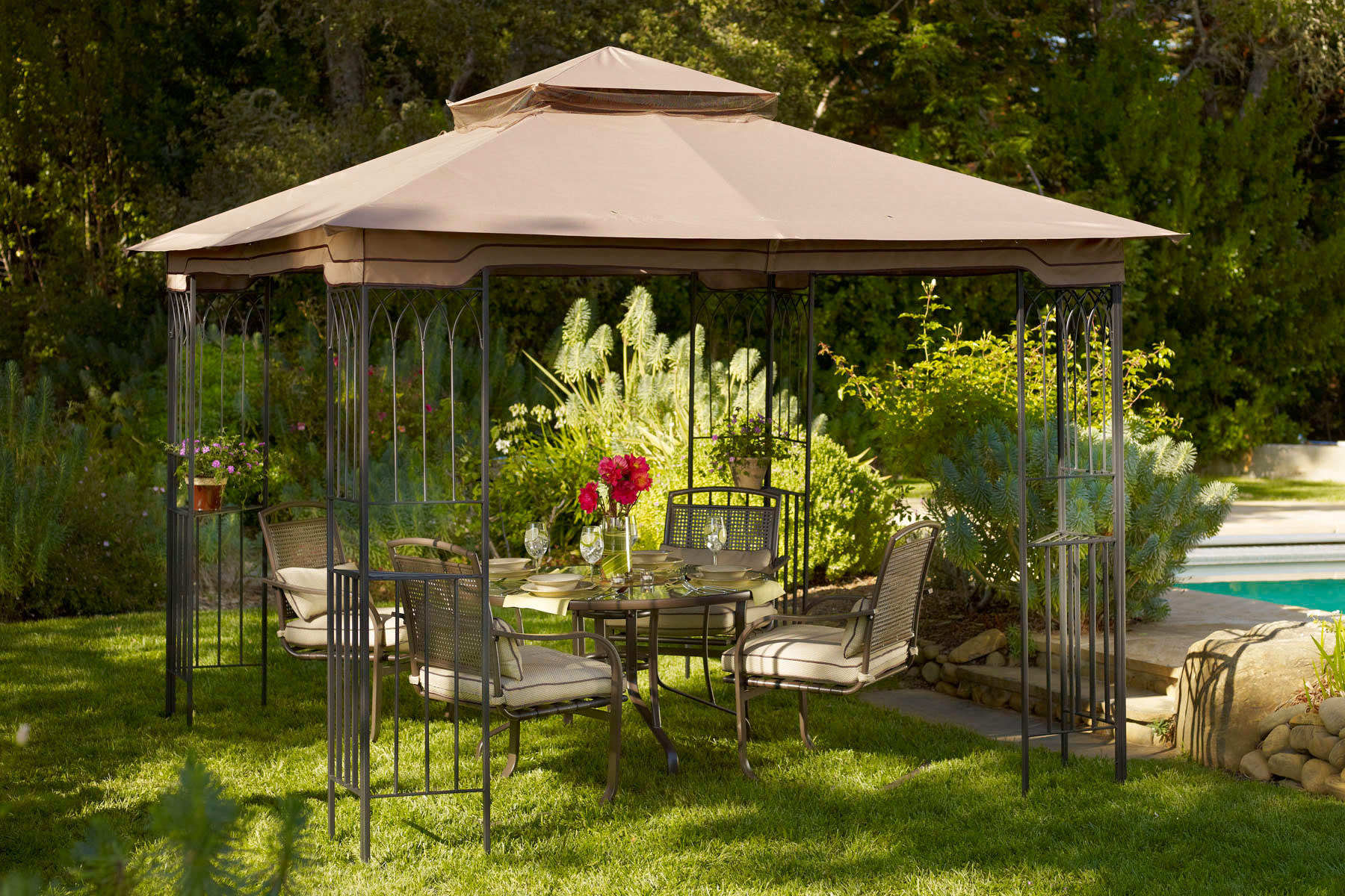 patio furniture gazebo photo - 1