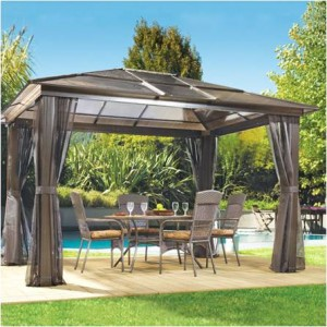 patio furniture gazebo photo - 2