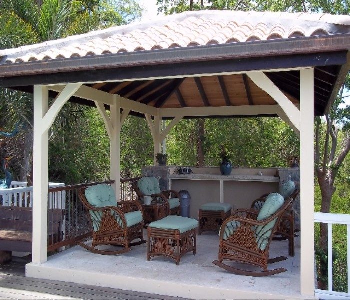 patio furniture gazebo photo - 3