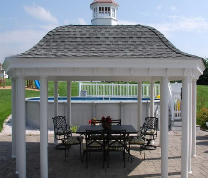 patio furniture gazebo photo - 5