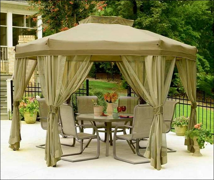 patio furniture gazebo photo - 6