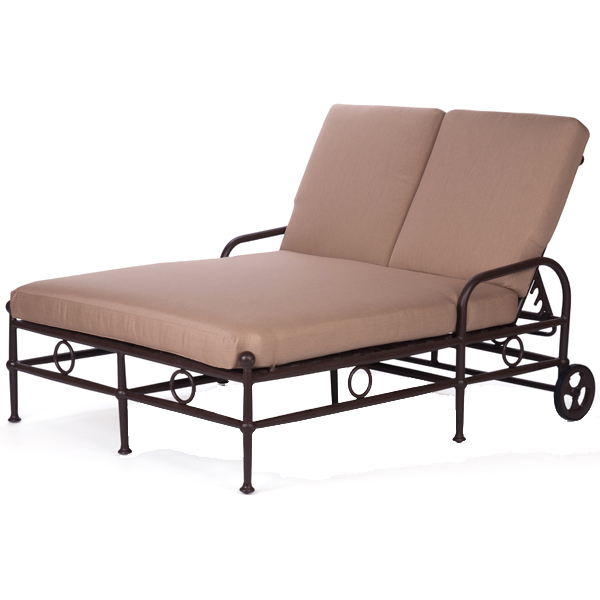 Double chaise lounge chair image of outdoor lounge chairs for Braddock heights chaise lounge