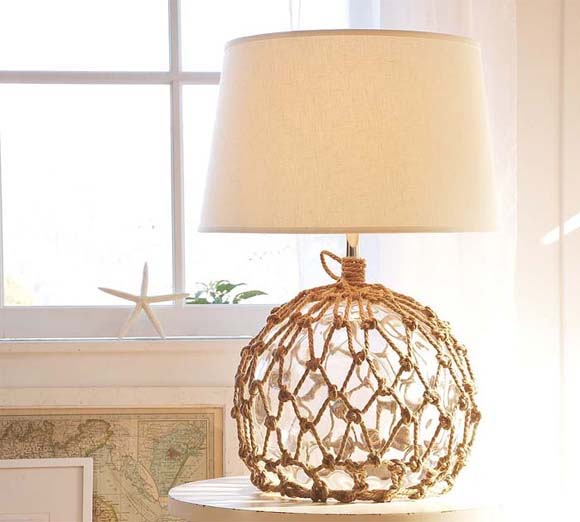 peach bedroom lamp photo - 3