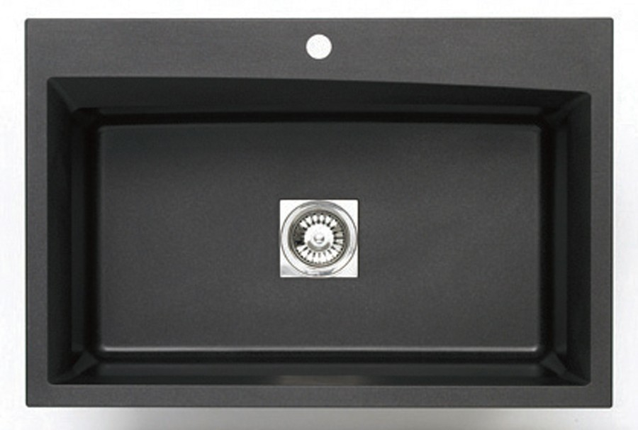 pegasus black granite sink photo - 2