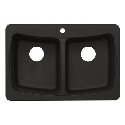 pegasus black granite sink photo - 6