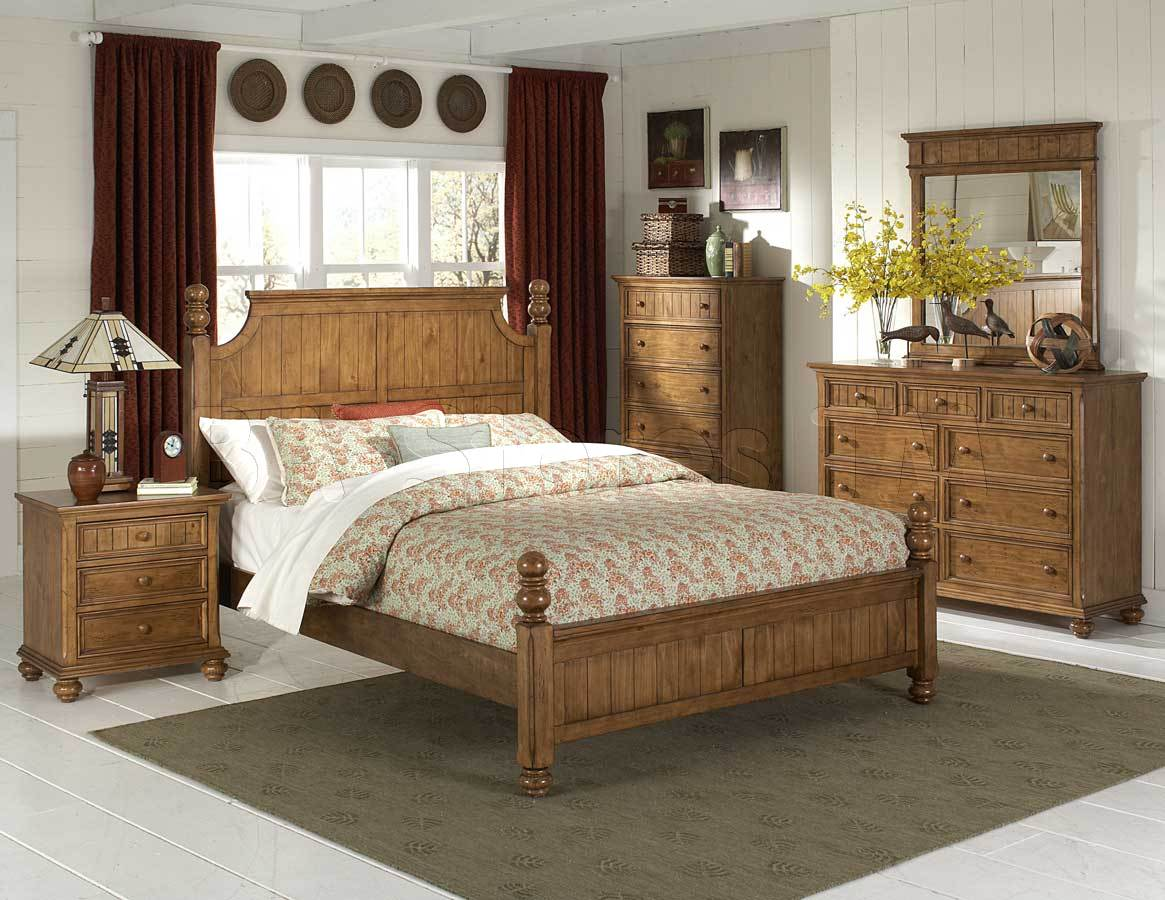 pine bedroom furniture decorating ideas photo - 3