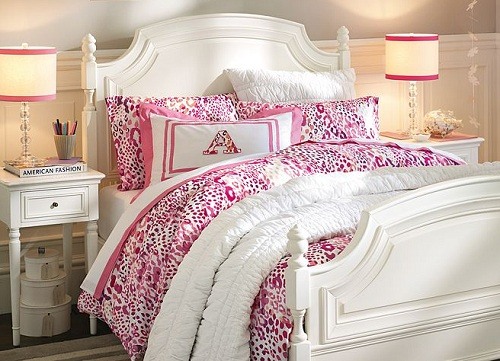 pink cheetah print bedroom photo - 6