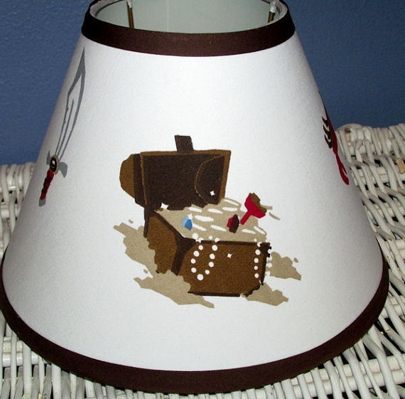 pirate bedroom lamp photo - 5