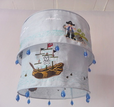 pirate bedroom lamp photo - 6