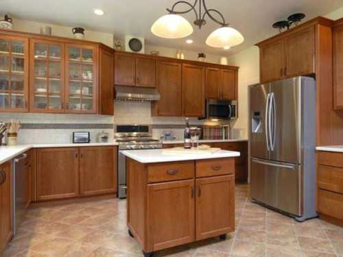 Popular kitchen cabinet stain colors
