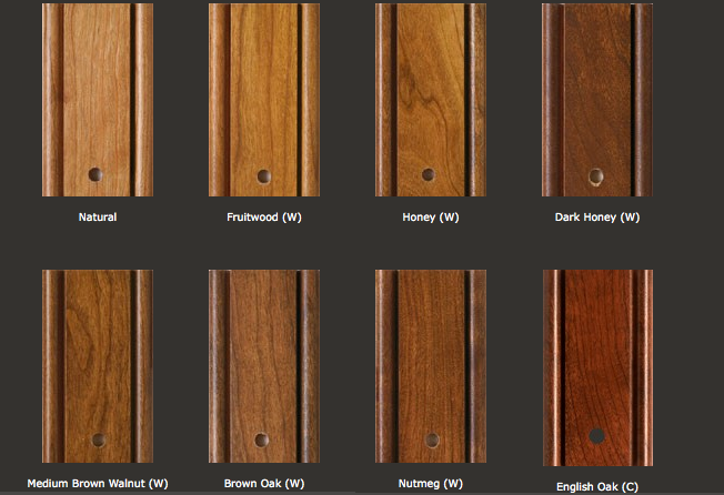 Popular kitchen cabinet stain colors | Interior & Exterior Doors