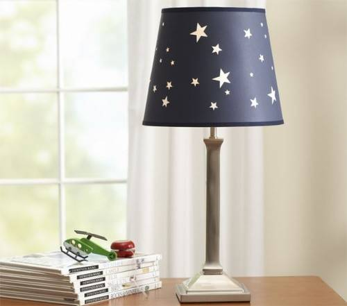 pretty bedroom lamp shades photo - 3